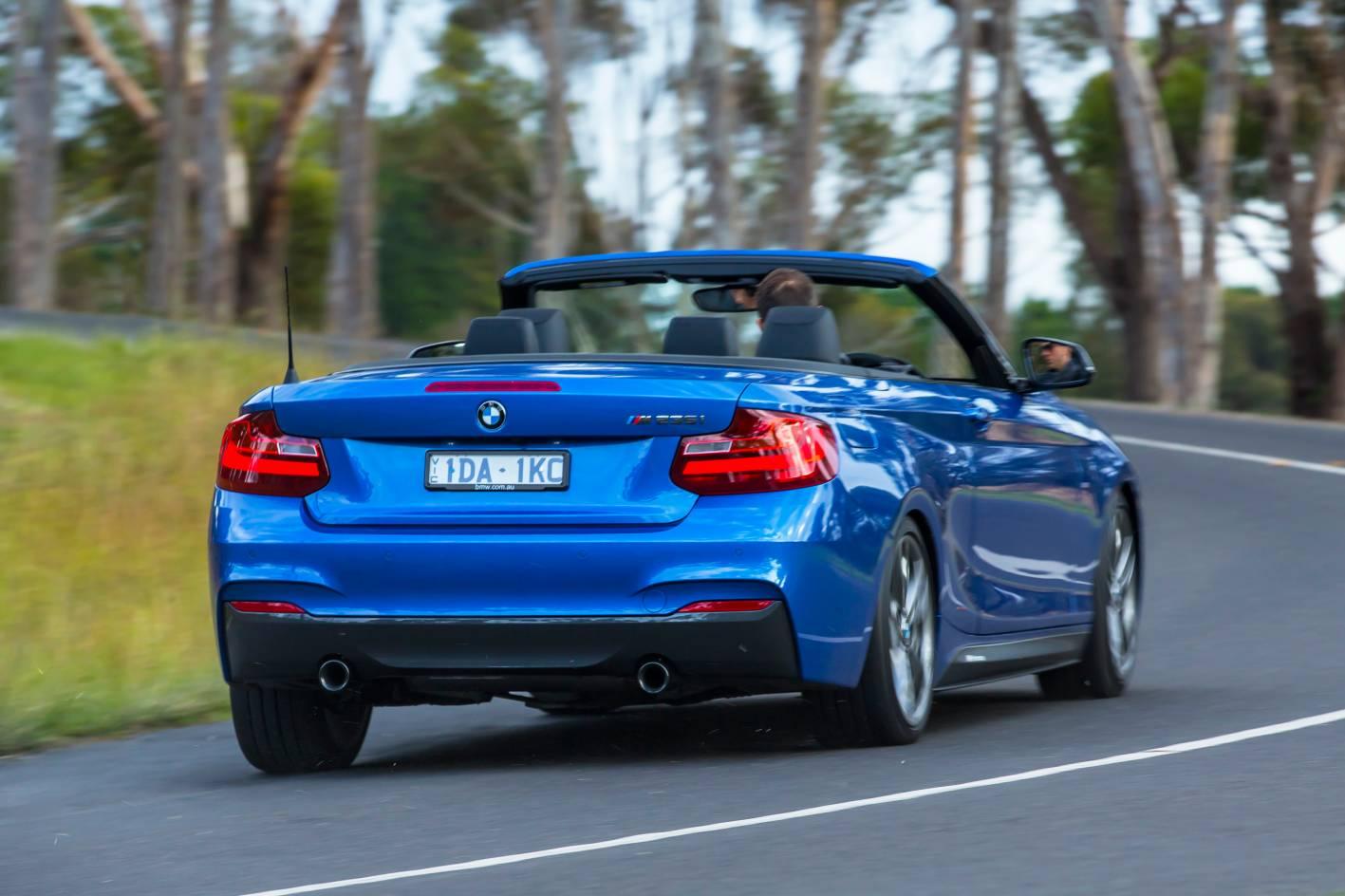 New BMW M235i Convertible rolls into Australia