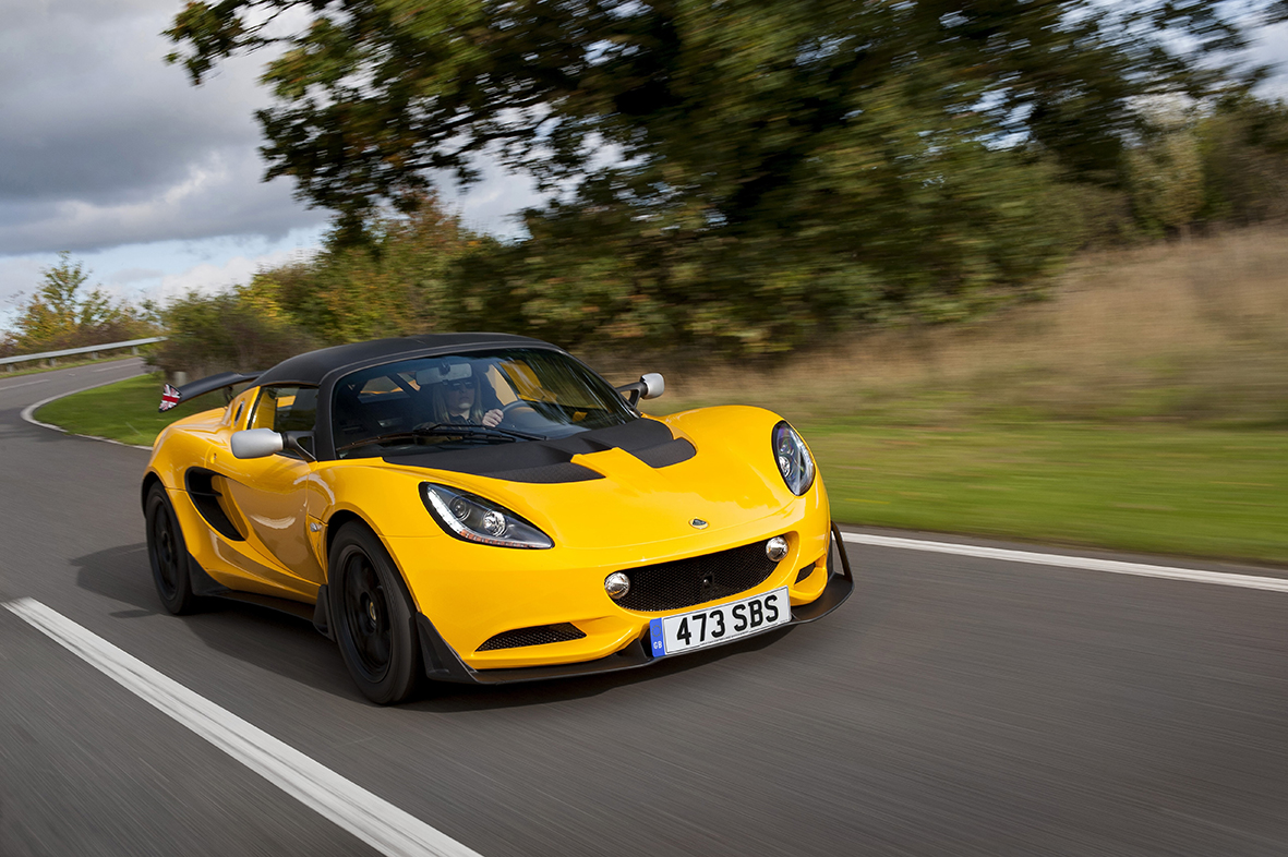 lotus elise 220 cup brings the race track to the road. Black Bedroom Furniture Sets. Home Design Ideas