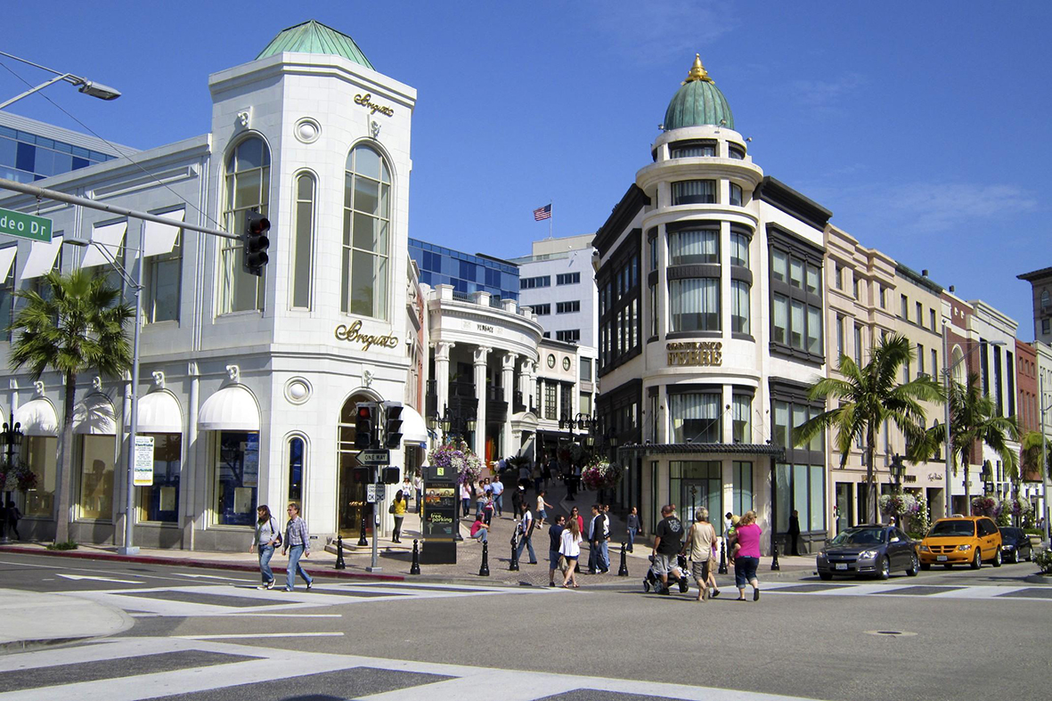 Rodeo Drive S Beverly Hills California Usa