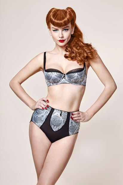 2c7d7282647 The Dita Von Teese lingerie range is available in sizes 8A – 20F and  features full figure briefs