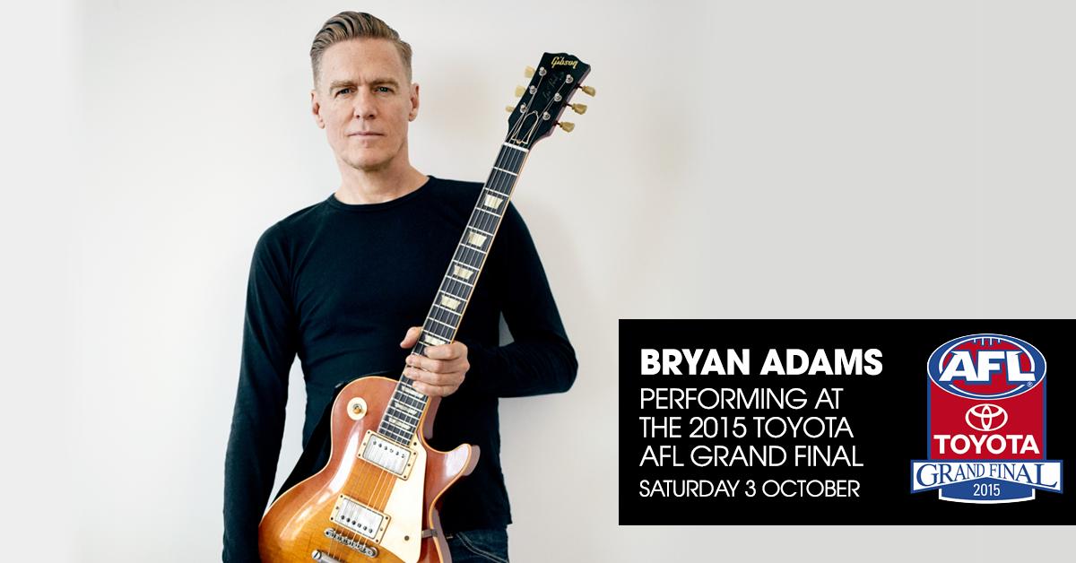 Bryan adams tour dates in Sydney