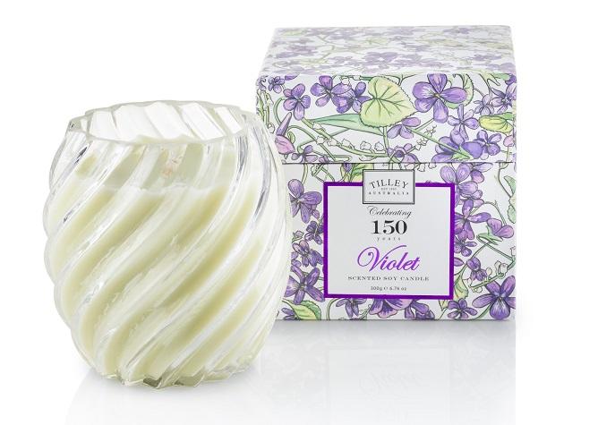 Violet Candle - $29.95