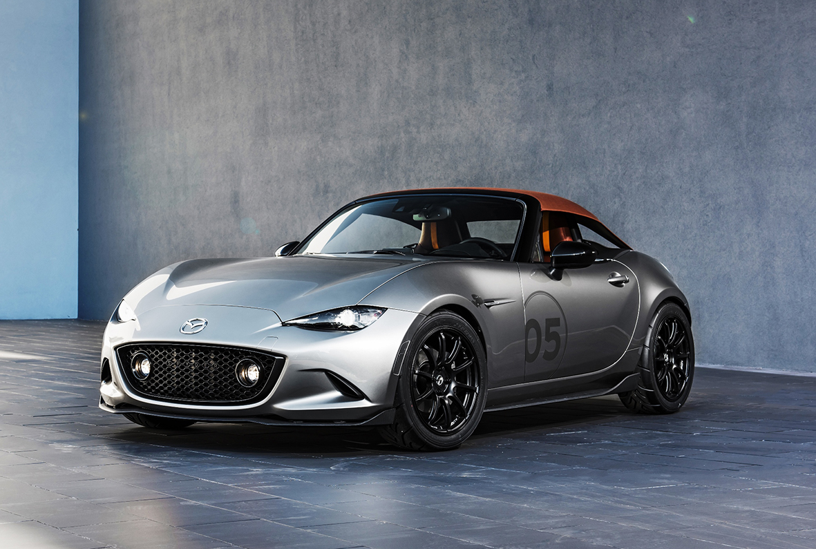 mazda reveals extreme lightweight design concepts at 2015 sema show. Black Bedroom Furniture Sets. Home Design Ideas