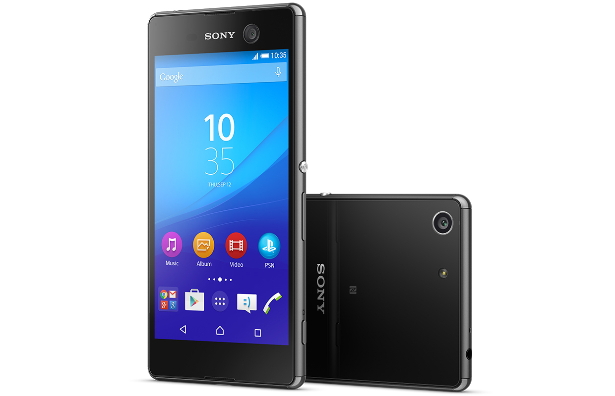 sony mobile releases new xperia m5 smartphone. Black Bedroom Furniture Sets. Home Design Ideas