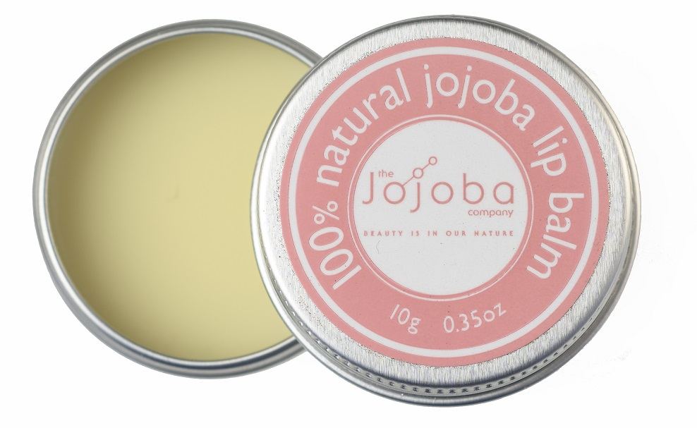 100% natural jojoba lip balm