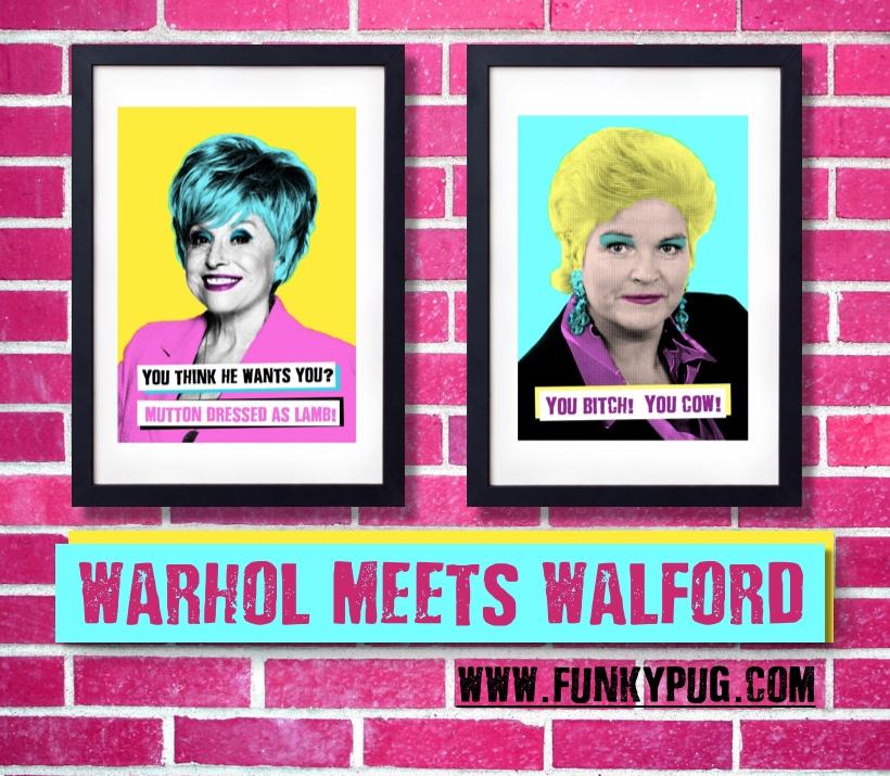 Warhol Meets Walford