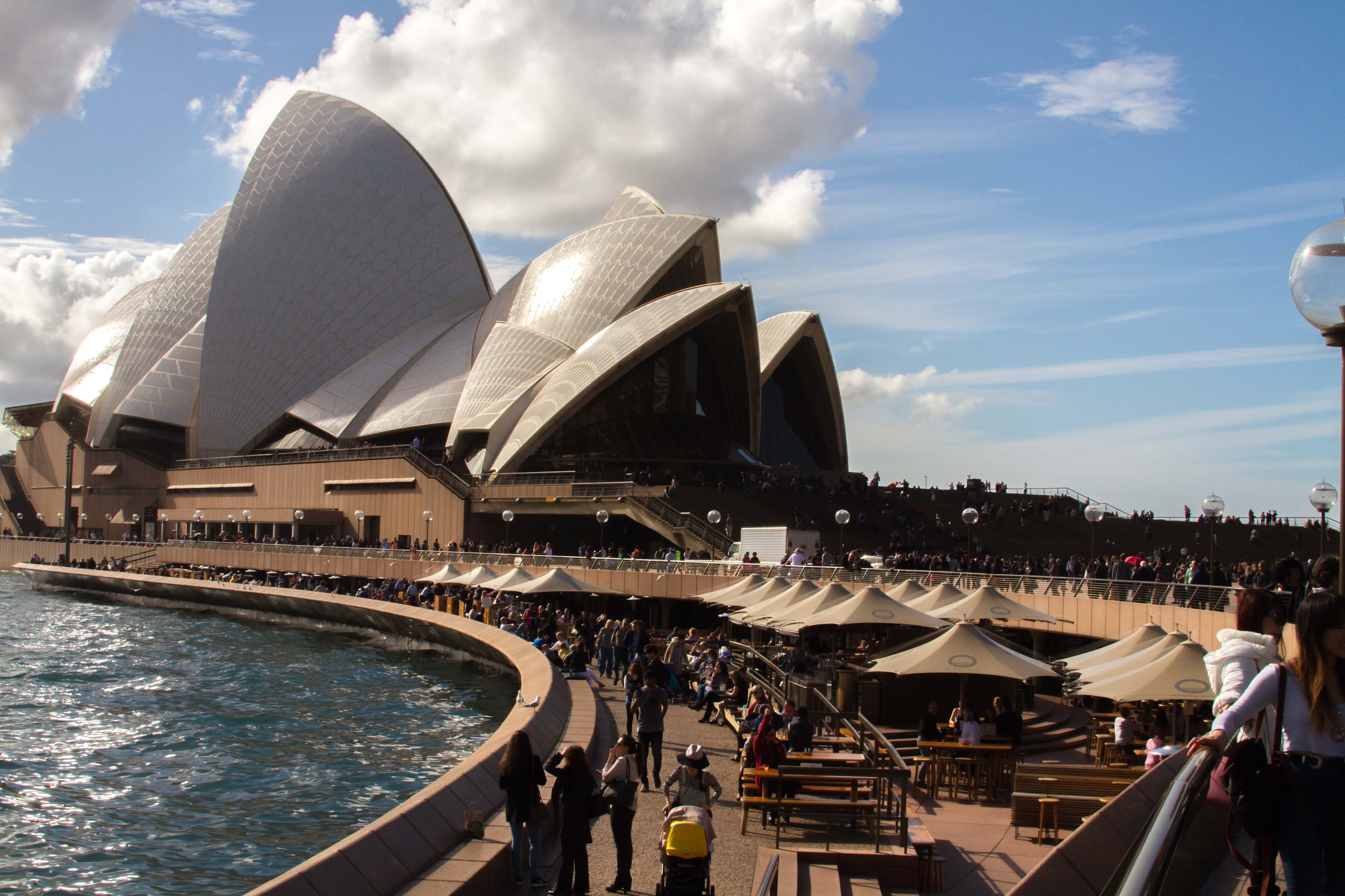 the sydney opera house essay Essays darryn king this is not an opera house © franciscus tan / getty  images  this was the first obvious sign of the sydney opera house's $273  million renovation  the sydney opera house has special needs that no one  could have.