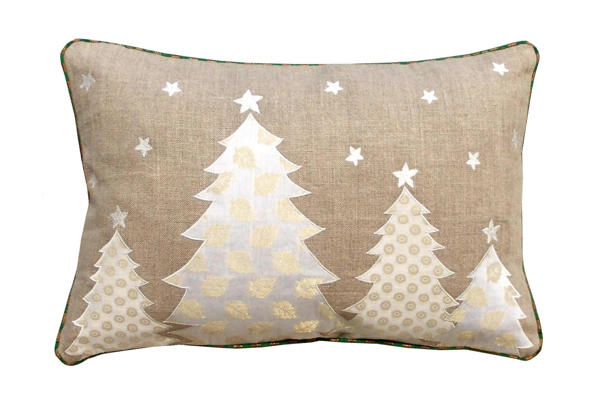 Christmas Tree Linen Cushion Cover by V Living on DaWanda.com - DaWanda – en.dawanda.com – AU $23.71