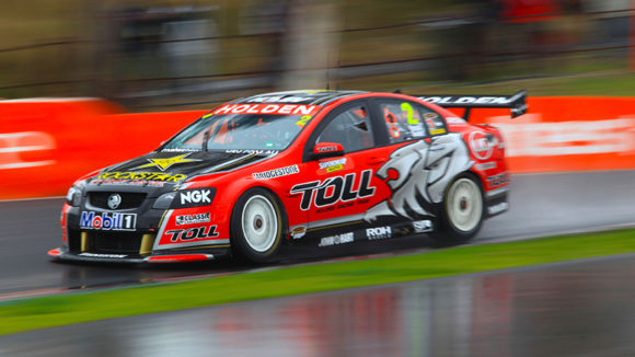 The Holden Racing Team Holden Commodore of Garth Tander and Nick Percat during the Supercheap Auto Bathurst 1000, event 10 of the 2011 V8 Supercars Championship at the Mount Panorama Circuit, Bathurst, New South Wales, October 08, 2011.