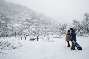 Village Snowfall