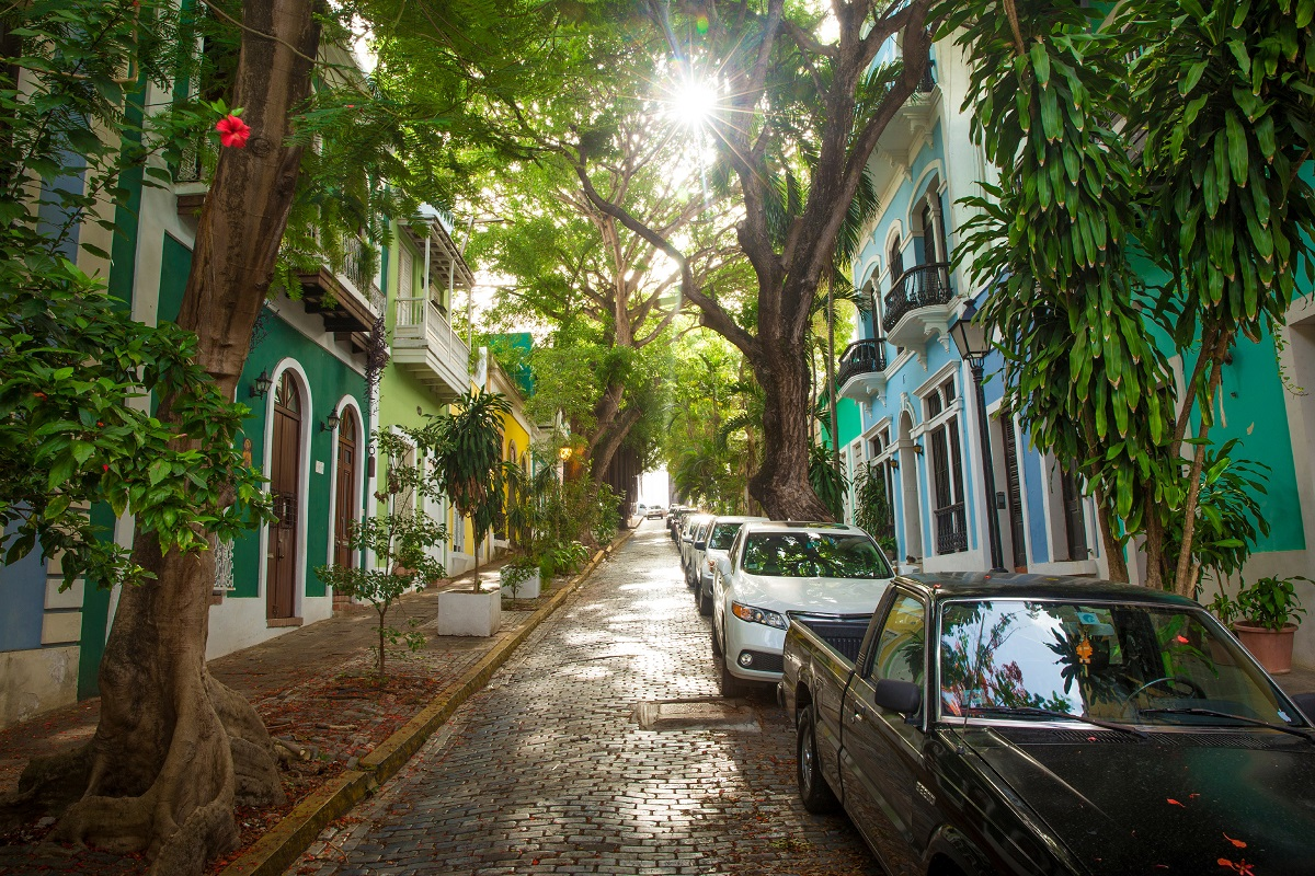 Stroll hand in hand through the streets of San Juan, Puerto Rico - ©mikolajn/Getty Images