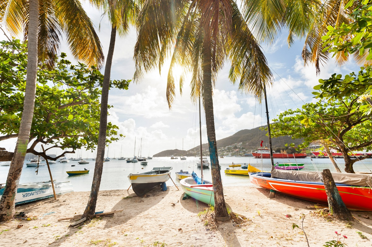 Take a boat for a leisurely day on the water at Admiralty Bay, St Vincent & The Grenadines - ©Justin Foulkes/Lonely Planet