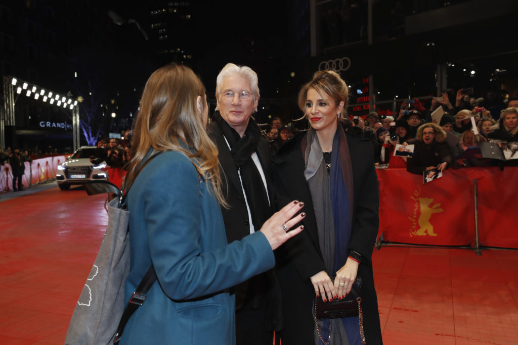 'The Dinner' Premiere - Audi At The 67th Berlinale International Film Festival