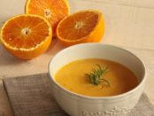 p. 105 carrot and red orange soup